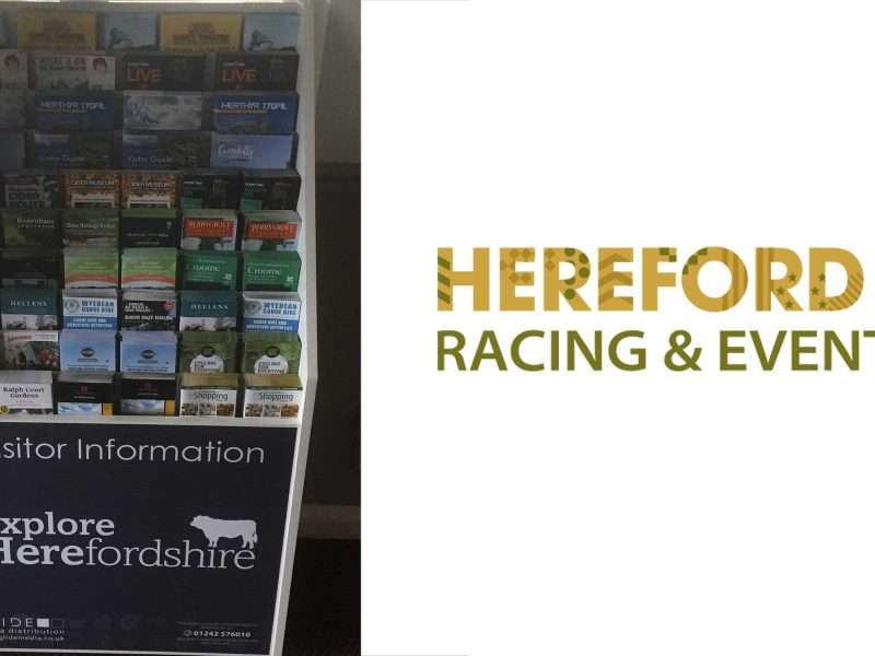 Hereford Races & Events: New Leaflet Marketing Opportunity for Tourist Attractions