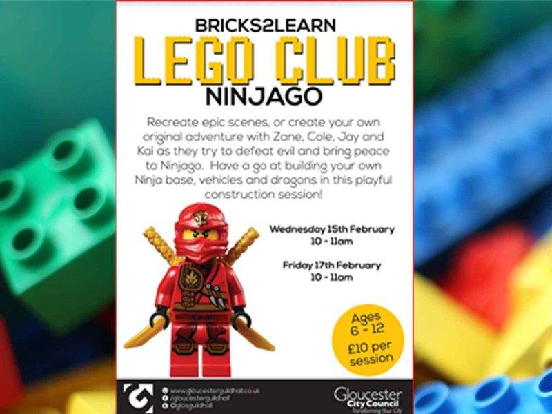 Lego Club, Gloucester Guildhall