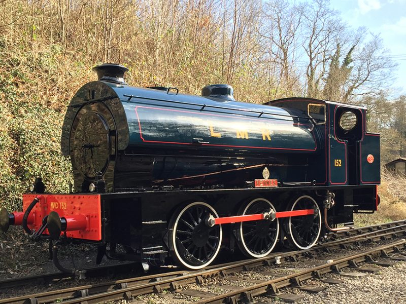 Wartime Forest Steam Gala, Glos, 20 – 21 May