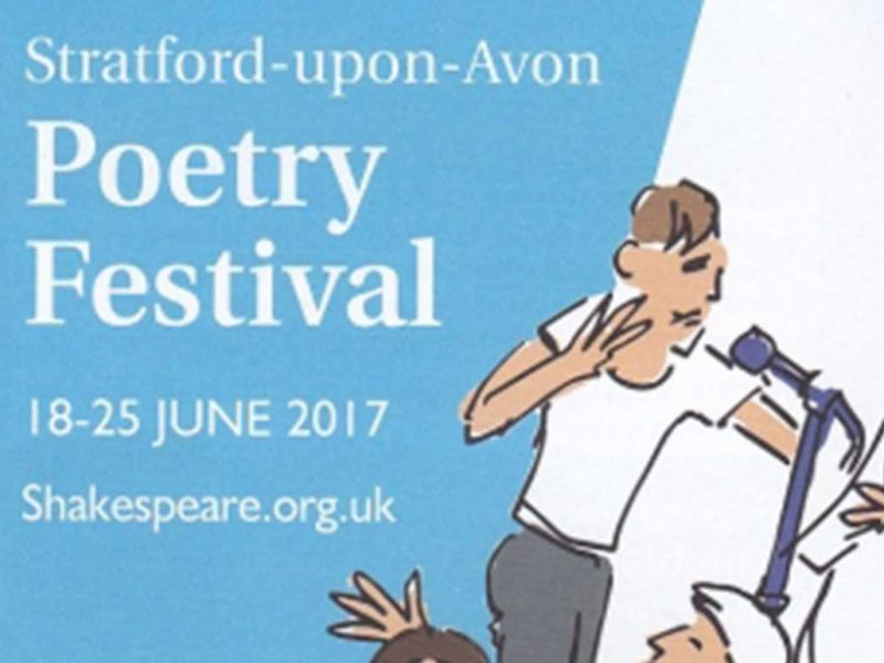 Stratford-upon-Avon Poetry Festival , 18-25 June