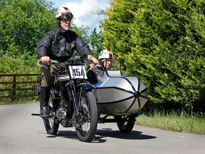 Vintage Motorcycle Run, 18 Jun, Warks