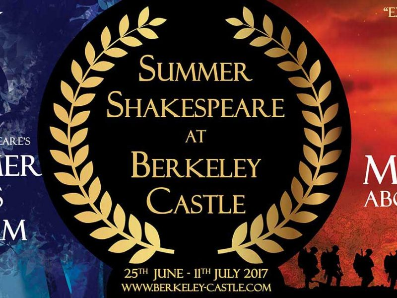 Summer Shakespeare, 25 Jun –11th Jul, Glos
