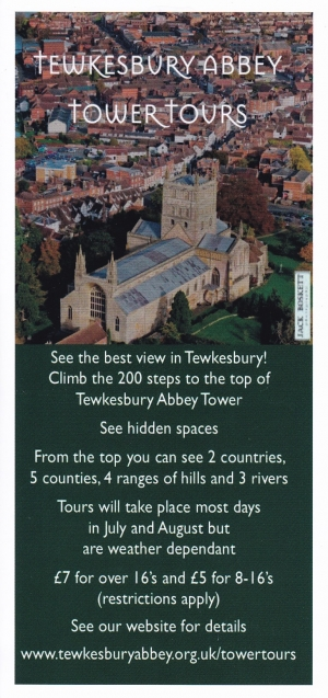 Tewkesbury Abbey Tower Tours