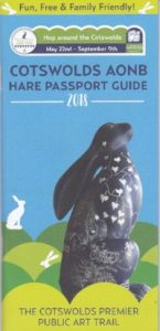 Cotswolds AONB Hare Trail leaflet