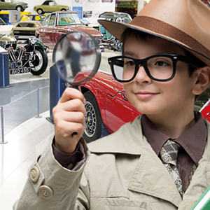 Half-Term Fun, 27 Oct – 4 Nov, British Motor Museum,