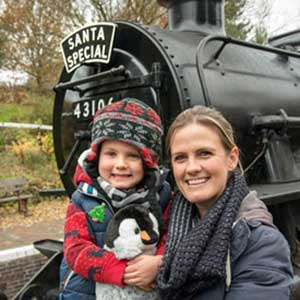 Christmas by Steam Train. Our Top Picks!