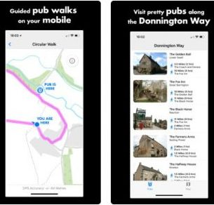 Free Cotswolds Pubs Walk App