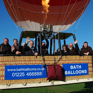 Champagne Hot Air Balloon Rides, Bath