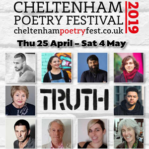 Proud Sponsors of Cheltenham Poetry Festival, 25 Apr – 4 May