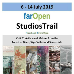 Far Open Studio Trail, 6 – 14 July, Forest of Dean & Wye Valley