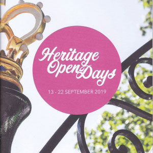 Warwick Heritage Open Days, 13 – 22 Sep, various venues, Warks