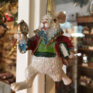 The Christmas Shop, open all year, Lechlade, Glos