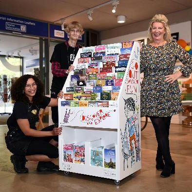 Discover & explore Gloucestershire with new artist designed leaflet displays