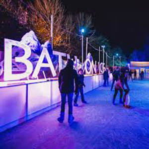 Bath on Ice, until 5 Jan, Royal Victoria Park
