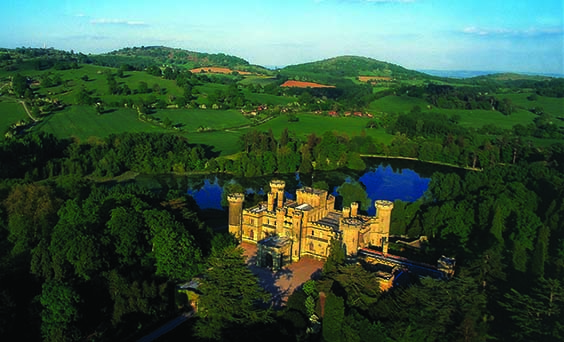 Eastnor Castle Visitors Enjoy a Return to the Grounds