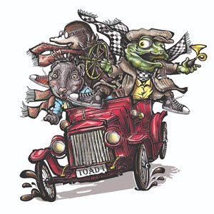 Wind in the Willows, Llanthony Secunda Priory, 25 Aug